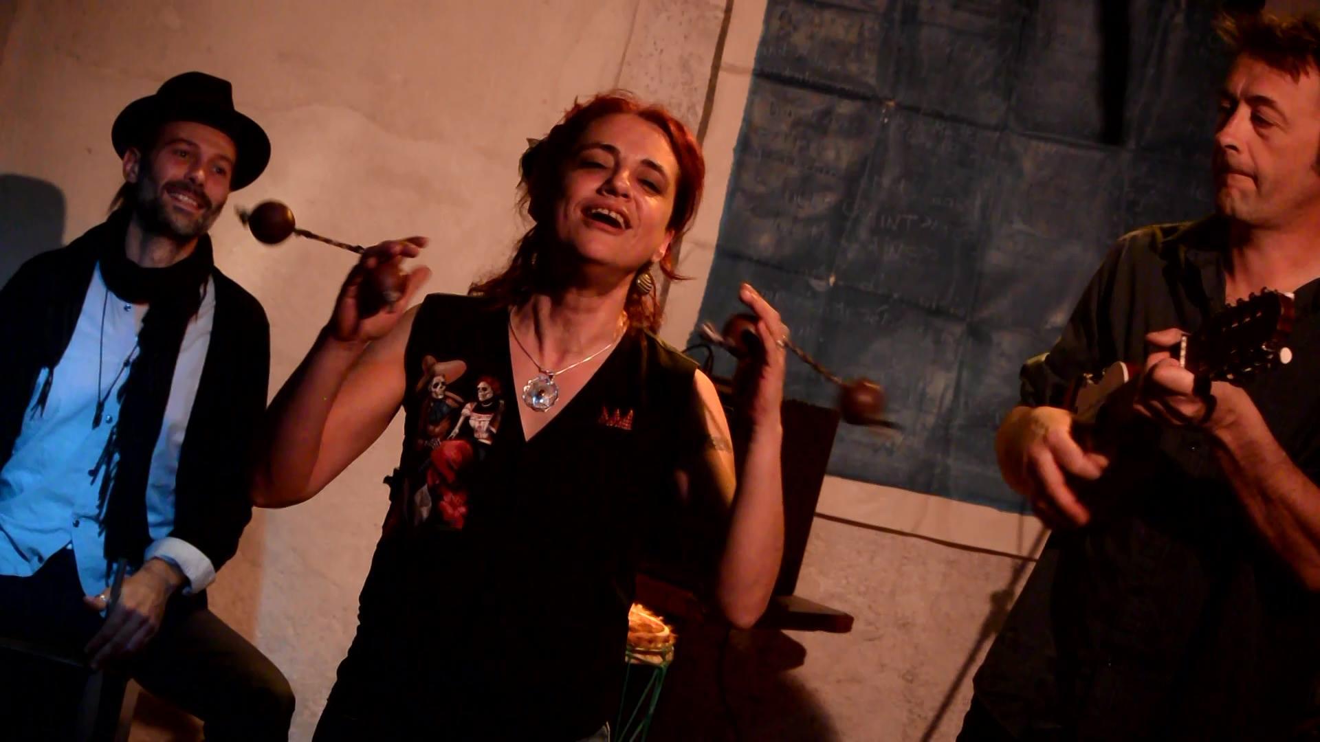Géraldtine Torres aux Diables Bleus